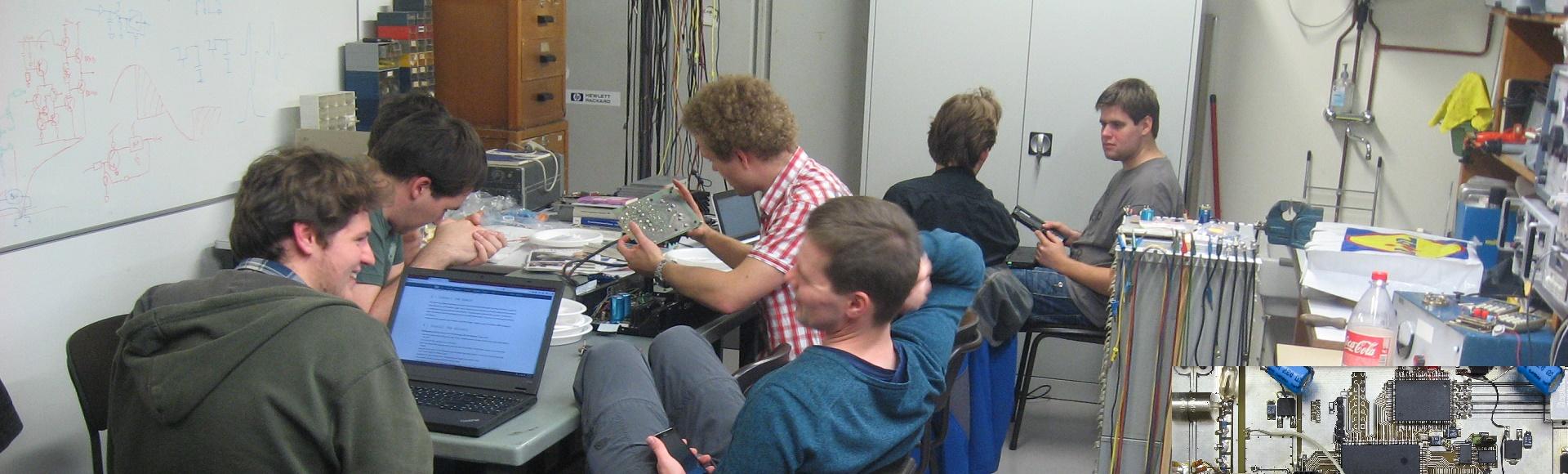 Hobby-elektronica bij de ETGD